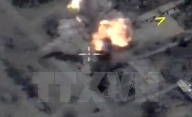 Nga phóng tên lửa phá hủy nhiều mục tiêu IS tại Syria