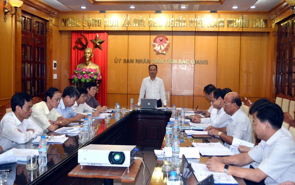Tập trung chỉ đạo, hoàn thành đúng lộ trình mở rộng địa giới hành chính TP Bắc Giang
