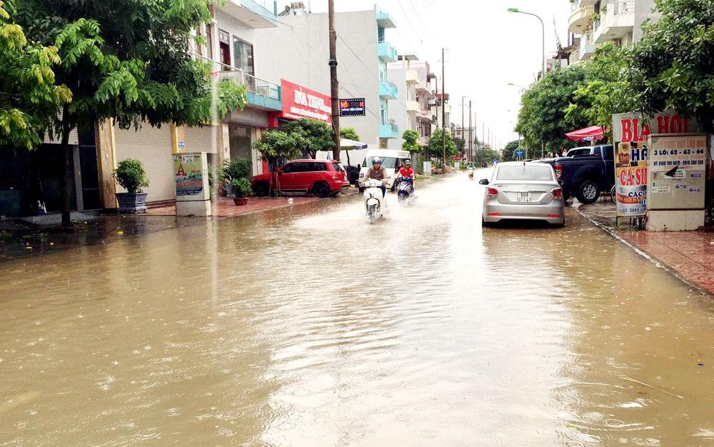 Sớm khắc phục tình trạng ngập nước sau mưa