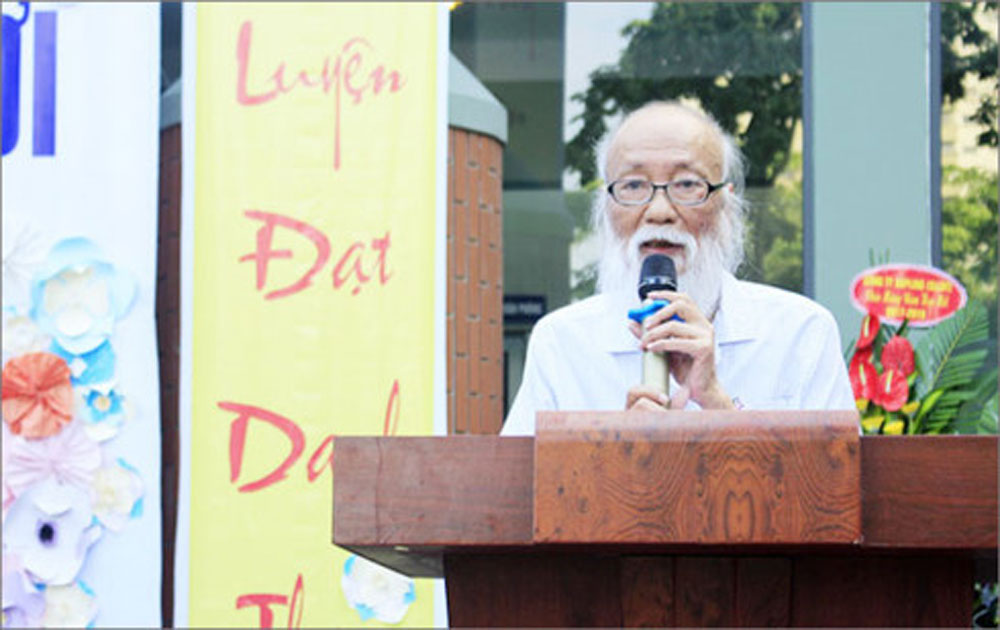 Phó Giáo sư Văn Như Cương, nói chuyện, bệnh lười, học trò