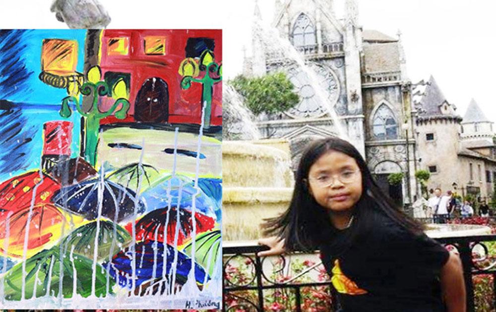 """""""Ước mơ xanh"""" của họa sĩ nhí 10 tuổi"""