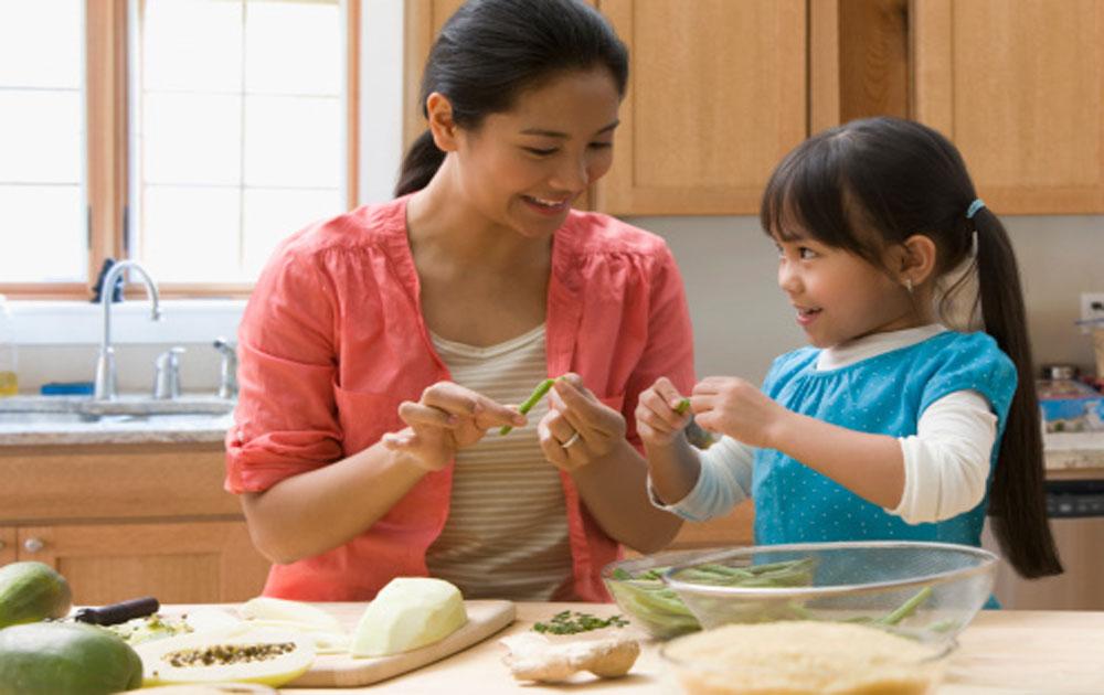 nguyên tắc, dạy con, làm việc nhà
