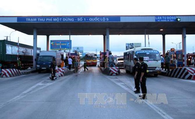 VIDIFI  đề nghị Công an vào cuộc bảo đảm ANTT tại Trạm thu phí trên quốc lộ 5