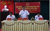 HĐND huyện Việt Yên họp bất thường thông qua nội dung điều chỉnh địa giới hành chính TP Bắc Giang