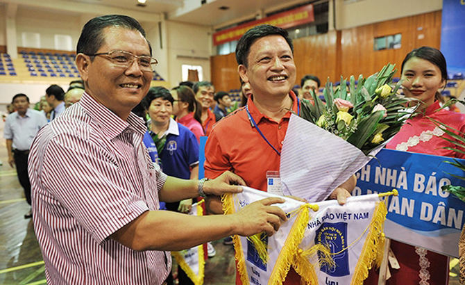 Khai mạc Giải bóng bàn cúp Hội Nhà báo Việt Nam lần thứ XI - năm 2017