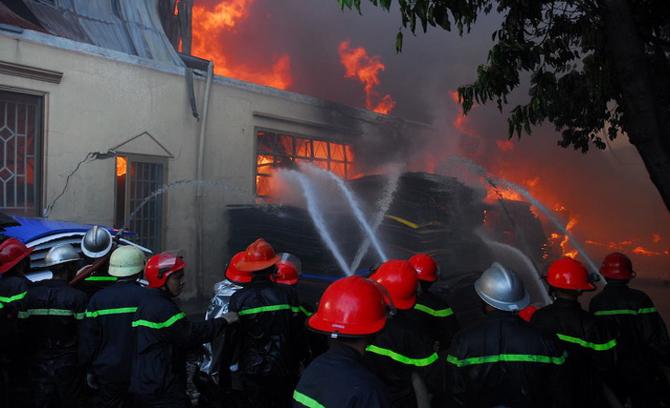 Thượng úy cảnh sát hy sinh khi chữa cháy ở TP Hồ Chí Minh