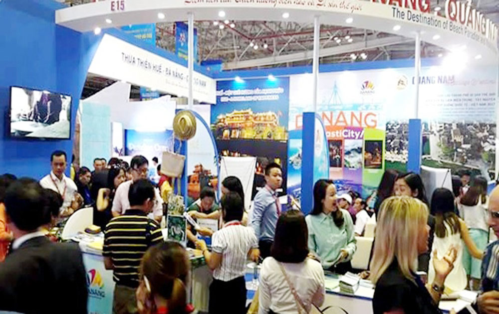 International Travel Expo, Ho Chi Minh city, typical event, promotion programmes, Vietnam tourism industry, international travel agencies, successful organisation, Vietnam's landscape, international friends