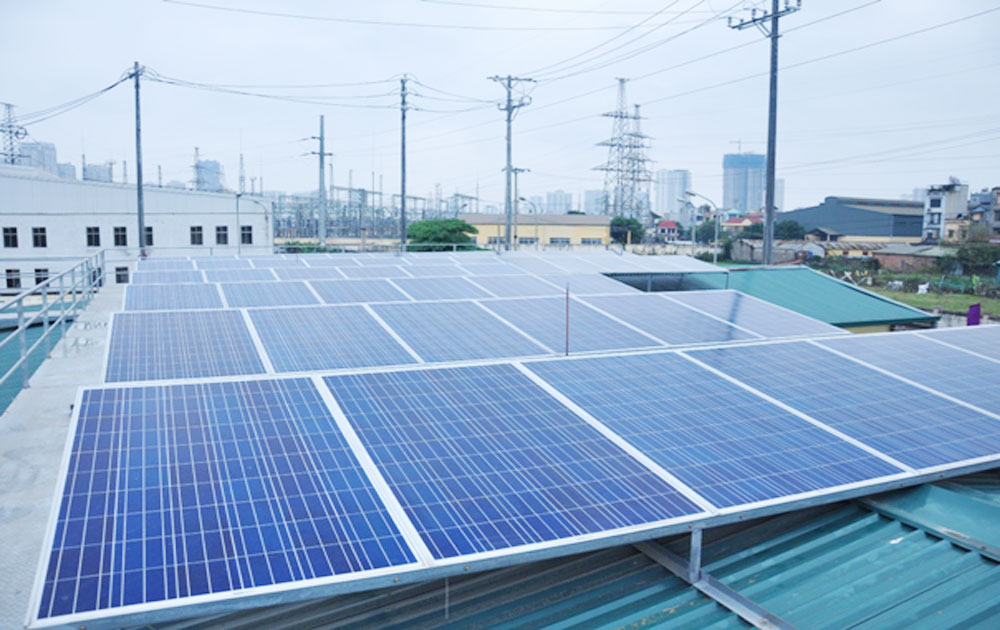 Solar power plant project invested in Bac Giang