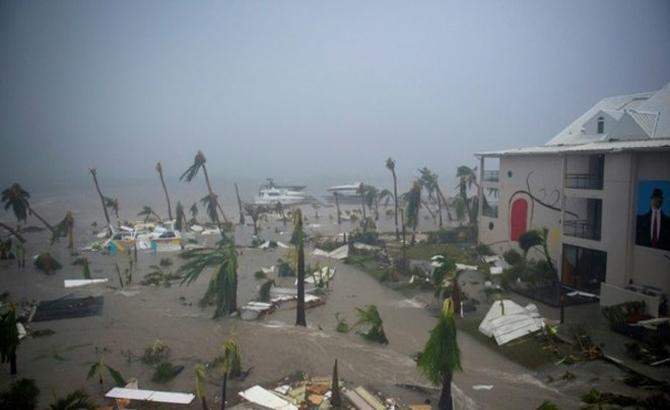 Bão Irma, tiếp tục,  thiệt hại, xuất hiện, Caribe