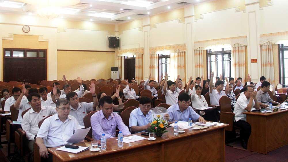 HĐND TP Bắc Giang, thông qua,  nghị quyết,  điều chỉnh,  địa giới,  hành chính