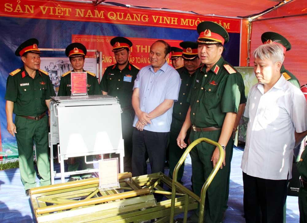 Đại đội Thiết giáp, Bộ CHQS tỉnh, tham gia, Hội thi kỹ thuật,  toàn quân