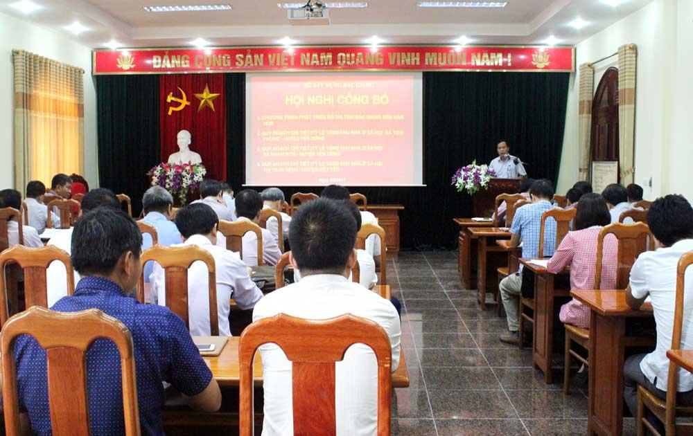 Công bố chương trình phát triển đô thị tỉnh Bắc Giang đến năm 2030