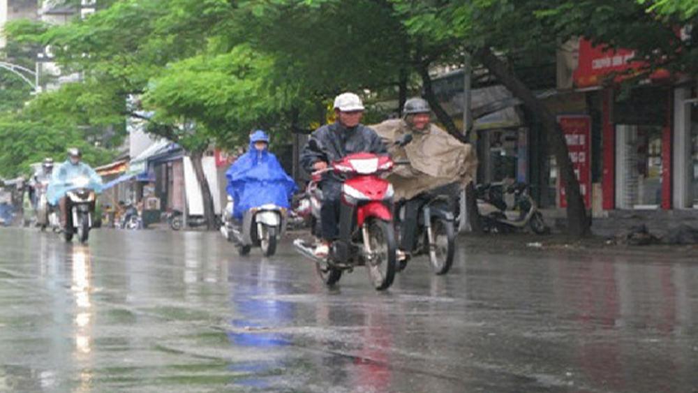 Miền Bắc tiếp tục mưa, miền Trung nắng nóng