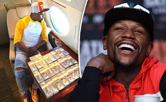 """Thu về """"núi tiền"""" từ trận gặp McGregor, Mayweather cán mốc 1 tỷ USD"""