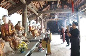 Đặc sắc nghệ thuật kiến trúc chùa Phúc Quang