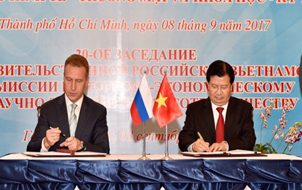 Vietnam, Russia gear towards US$10 billion trade in 2020