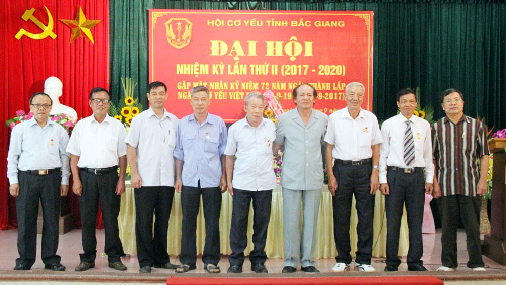 Đại hội , Hội Cơ yếu,  tỉnh Bắc Giang,  lần thứ II