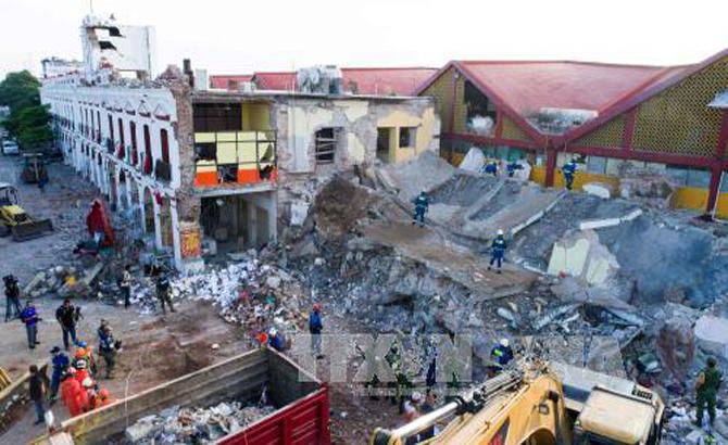 Ít nhất, 90 người, thiệt mạng, động đất, 'thế kỷ', Mexico