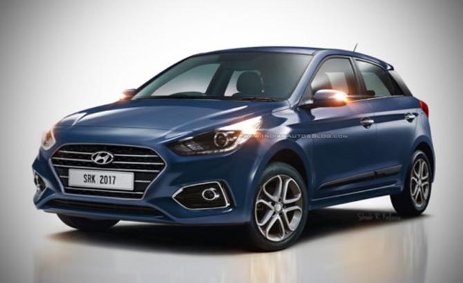 Hyundai Elite i20 bản nâng cấp lần đầu hé lộ với nhiều cải tiến mới