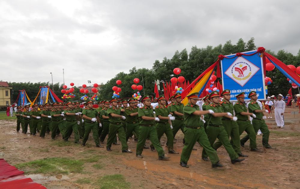 Huyện Lục Ngạn tổ chức Đại hội TDTT lần thứ VIII năm 2017