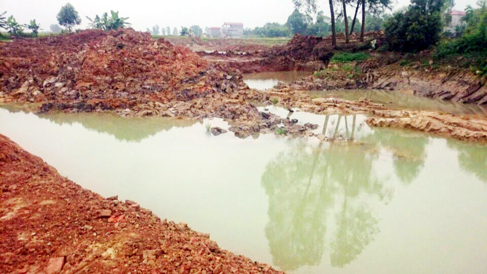 địa bàn tỉnh Bắc Giang, tổ chức, cá nhân, khai thác cát sỏi, xả chất thải, ô nhiễm môi trường, vi phạm hành chính