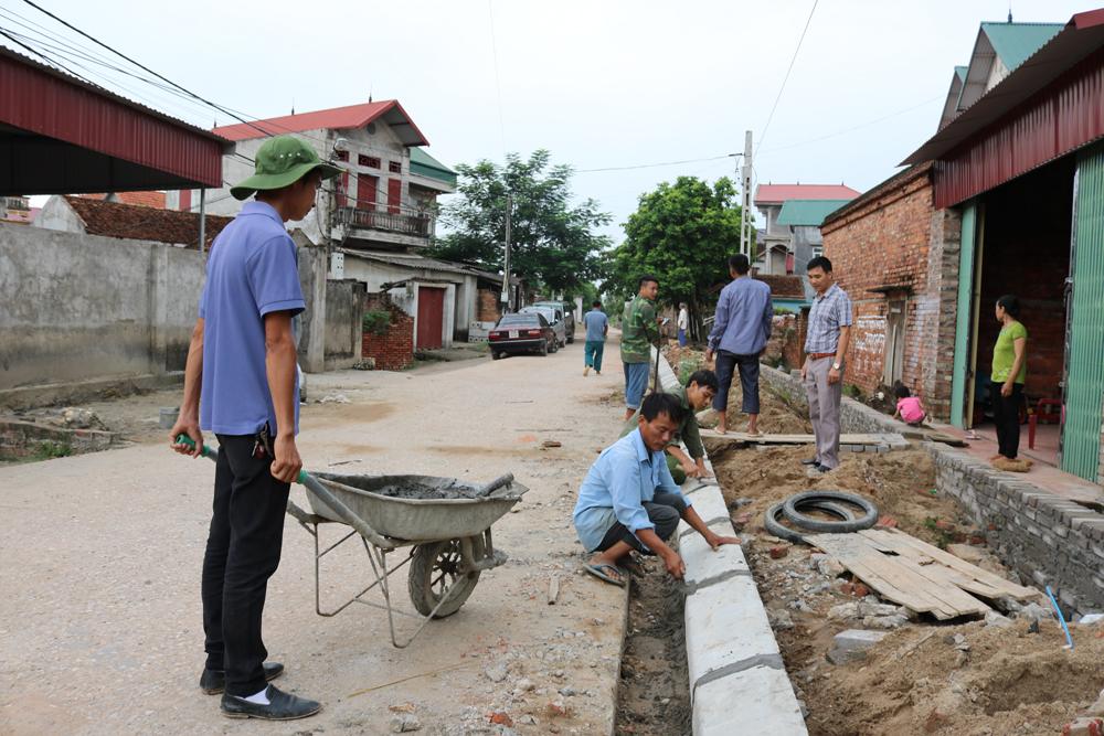 Phố, đường, Văn Sơn, Tân Tiến, giải phóng mặt bằng, vỉa hè