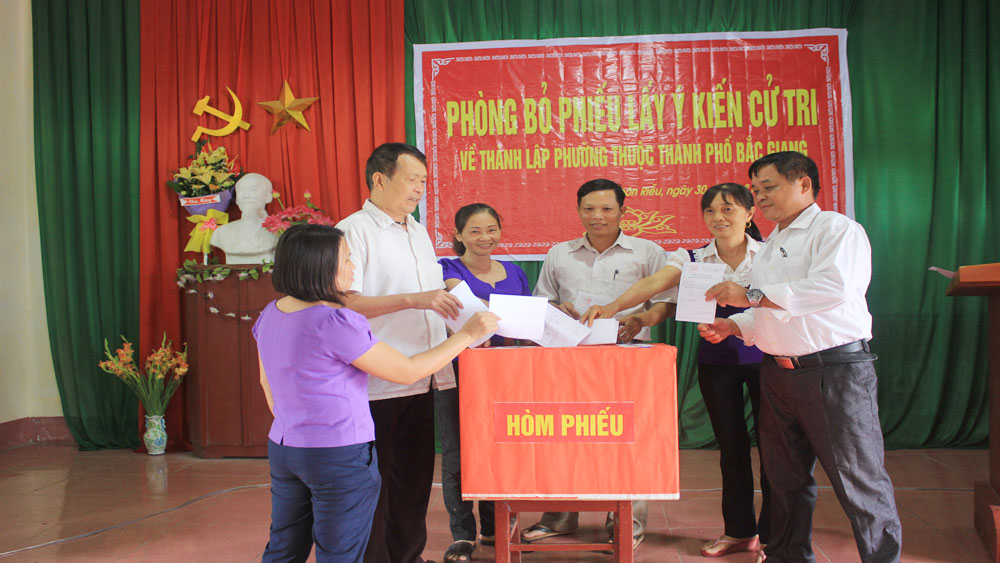Bac Giang city to expand administrative boundaries towards first-grade city status