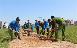 Tuổi trẻ Bắc Giang học và làm theo Bác: Thực hiện nhiều công trình, phần việc ý nghĩa