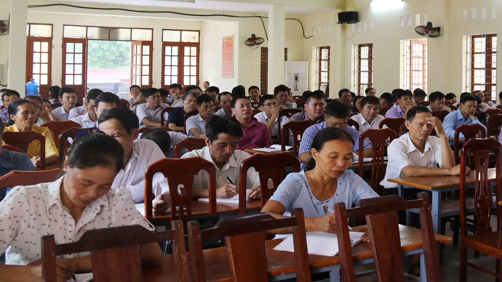 Việt Yên, dân vận, tập huấn