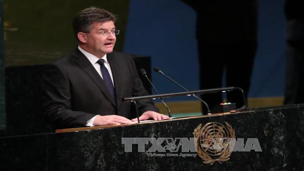 Khai mạc khóa họp thứ 72 Đại hội đồng Liên Hợp quốc