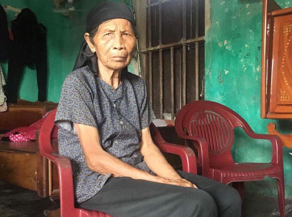 Cụ bà 73 tuổi, cần giúp đỡ, hoàn cảnh đặc biệt khó khăn