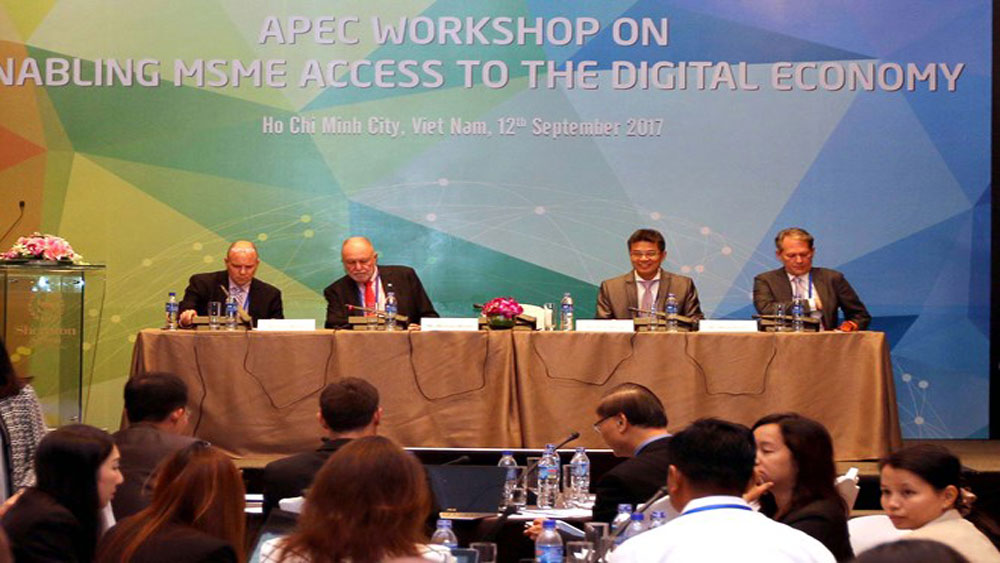 APEC workshop, MSMEs' access, digital economy, Ho Chi Minh city, Ministerial Meeting, APEC member economies,