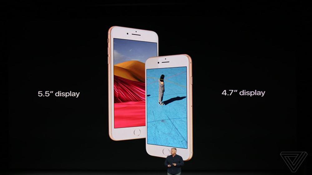 iPhone 8 và iPhone 8 Plus nâng cấp từ iPhone 7 chính thức ra mắt