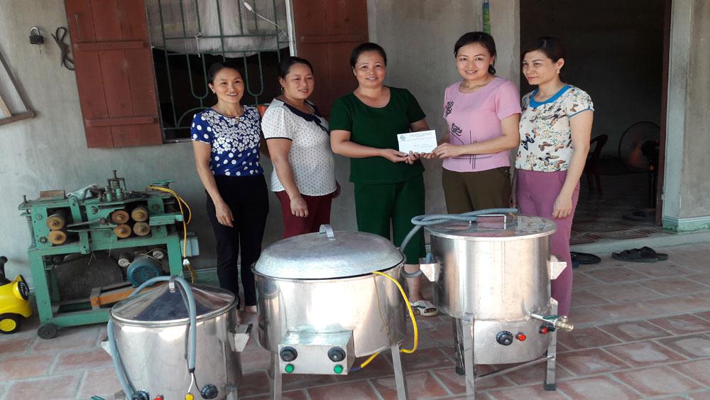 Phụ nữ Yên Dũng: Đồng hành cùng chị em nghèo phát triển kinh tế