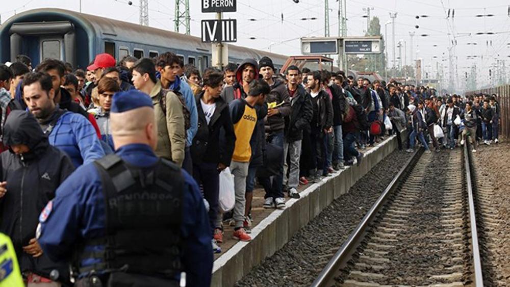 Séc, điều động, 1.000, cảnh sát, nước ngoài, kiểm soát, dòng người, tị nạn
