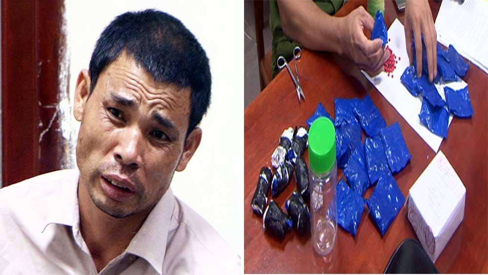 Bắt đối tượng vận chuyển 5.600 viên ma túy tổng hợp