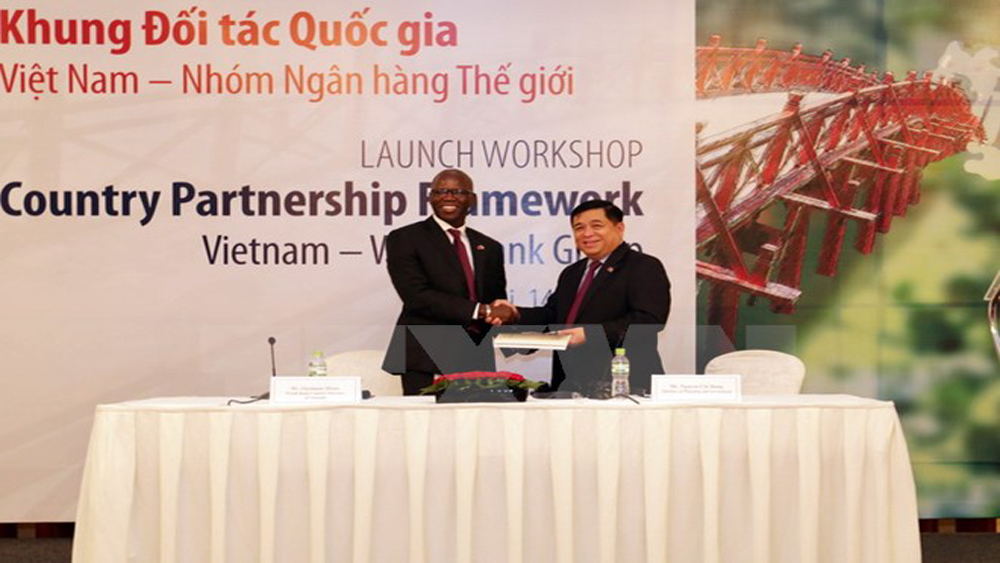 Công bố, Khung đối tác, quốc gia, Việt Nam, giai đoạn, 2017-2022