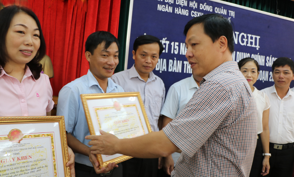 2.740 hộ thoát nghèo do được vay vốn từ Ngân hàng Chính sách xã hội