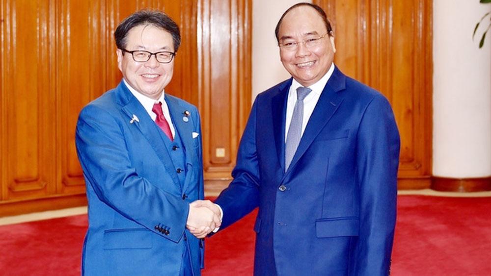 Prime Minister greets Japanese economy minister
