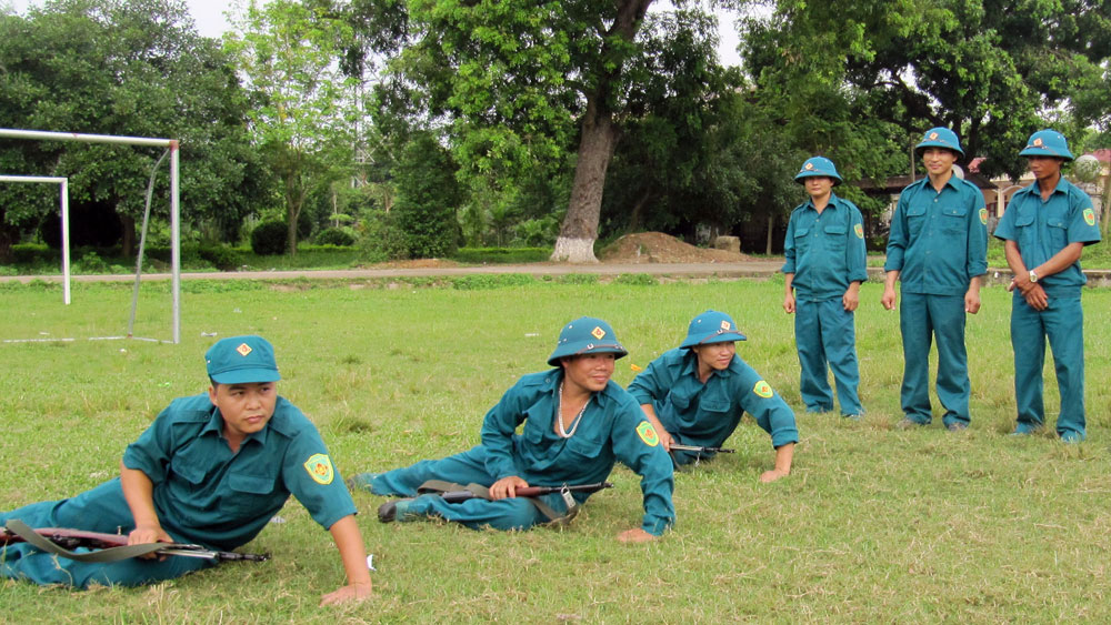 Lực lượng vũ trang huyện Lạng Giang: Dẫn đầu phong trào thi đua Quyết thắng