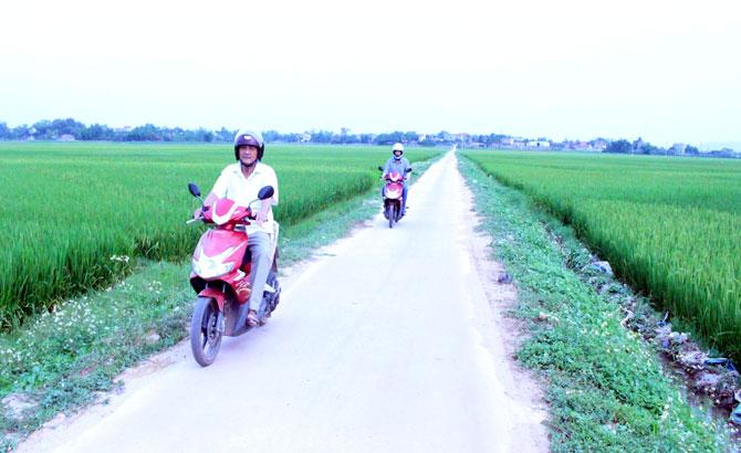 Xã Phi Mô hoàn thành các tiêu chí nông thôn mới