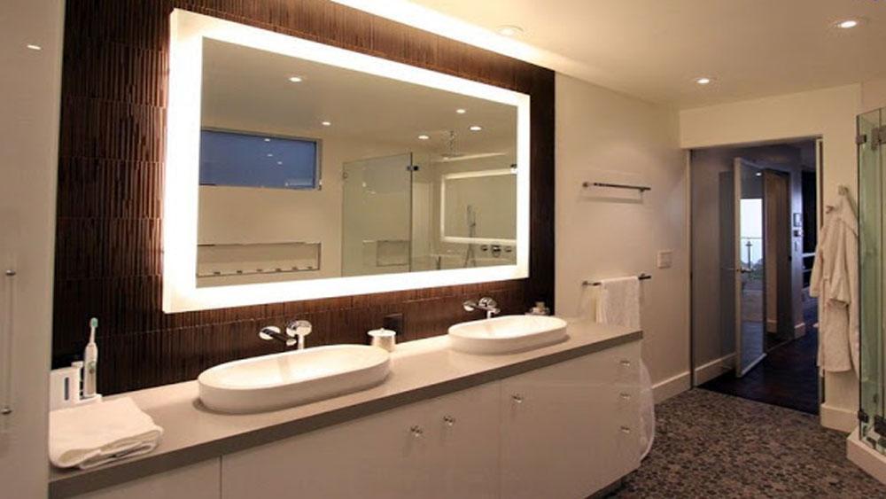 Kinh nghiệm lựa chọn gương phòng tắm