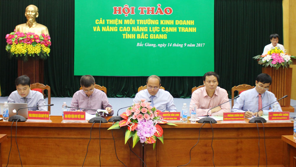 More efforts, Bac Giang province, business environment, PCI, VCCI, synchronous measure, investment environment, specific plan