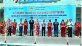 Bàn giao dự án tài trợ cơ sở vật chất trường học tại phường Thọ Xương