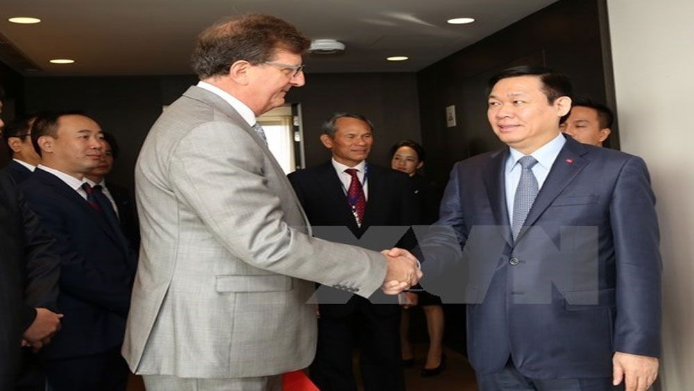 Deputy Prime Minister meets EU leaders