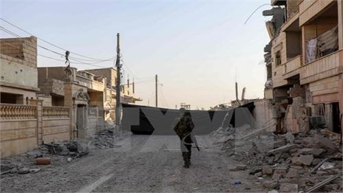 SDF giành lại phần lớn thành phố Raqqa ở Syria từ tay tổ chức IS