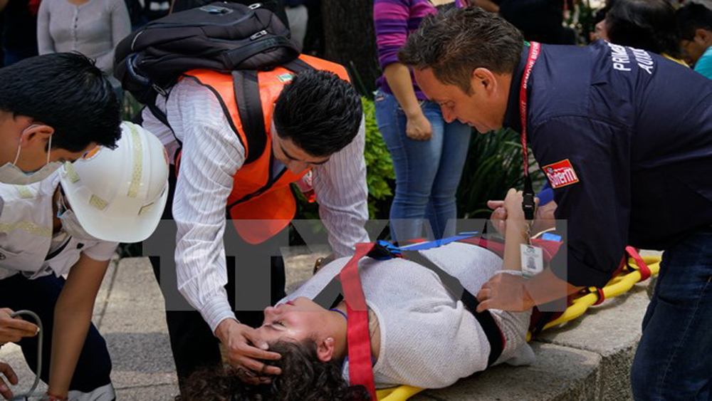 Động đất mạnh tại Mexico: Tổng thống Nieto tuyên bố quốc tang 3 ngày