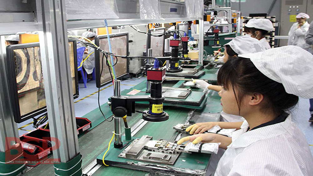 Bac Giang: Industrial production of FDI sector increases 57.5 percent
