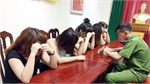 Bắt nhóm thanh niên sử dụng ma túy trong quán karaoke