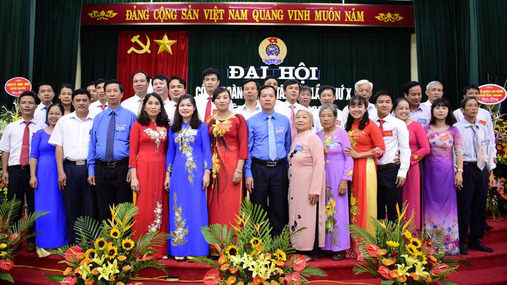 Liên đoàn Lao động huyện Tân Yên tổ chức Đại hội lần thứ X (nhiệm kỳ 2017-2022)